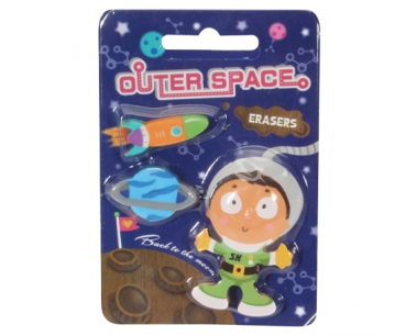 Radiergummi-Set OUTER SPACE (3-teilig)