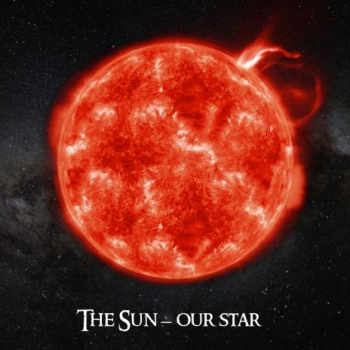 3D-SquareCard THE SUN - OUR STAR